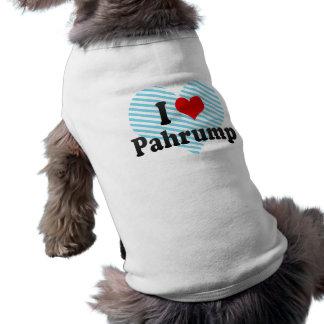 I Love Pahrump, United States Sleeveless Dog Shirt