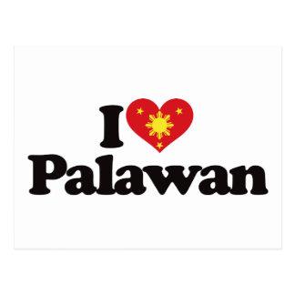 I Love Palawan Postcard