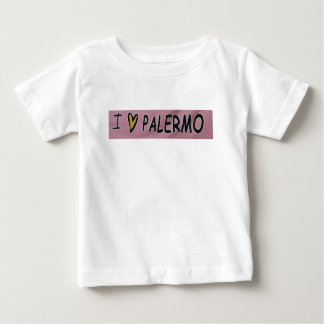 I love Palermo Design Baby T-Shirt