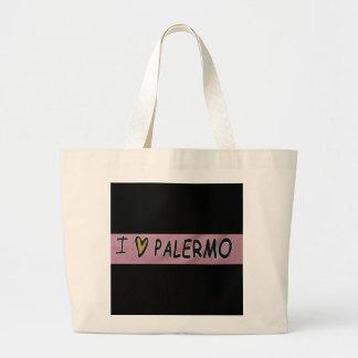 I love Palermo Design Large Tote Bag