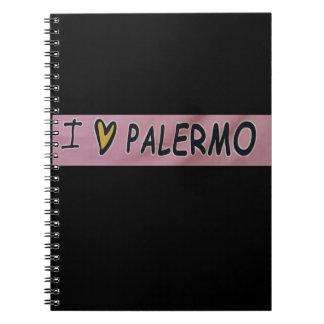 I love Palermo Design Notebook