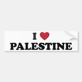 I Love Palestine Bumper Sticker