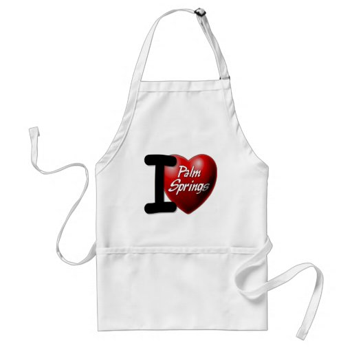 I Love Palm Springs Aprons