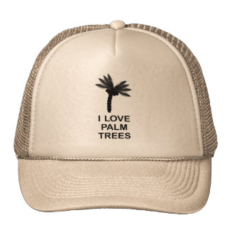 I LOVE PALM TREES CAP
