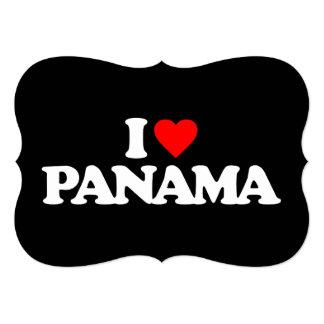 I LOVE PANAMA CUSTOM ANNOUNCEMENT