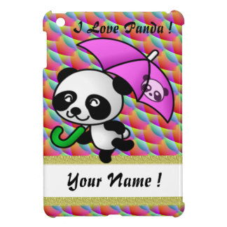 I love panda ipad mini rainbow 8 iPad mini covers