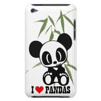 I Love Pandas Case-Mate iPod Touch Case