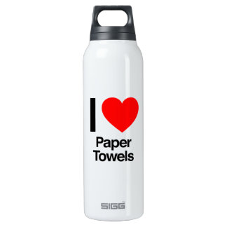 i love paper towels 0.5 litre insulated SIGG thermos water bottle