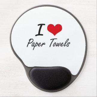 I Love Paper Towels Gel Mouse Pad