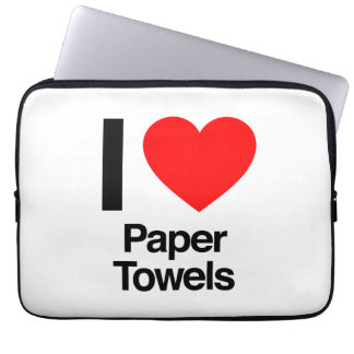 i love paper towels computer sleeves