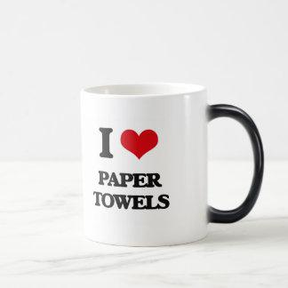 I Love Paper Towels Coffee Mug