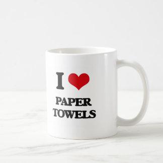 I Love Paper Towels Mug