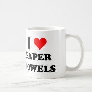 I Love Paper Towels Coffee Mugs