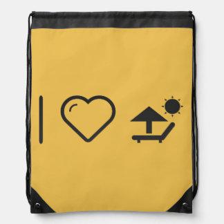 I Love Parasol Shades Backpack