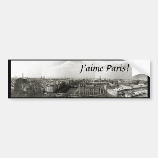 """""""I love Paris!"""" Bumper Sticker"""