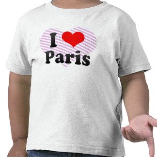 I Love Paris, France T Shirt