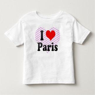 I Love Paris, France T-shirts