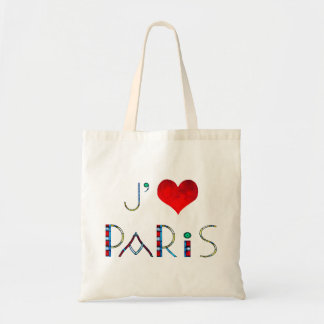 I Love Paris in Notre Dame Stained Glass Tote Bag