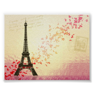 I love Paris in Springtime Poster