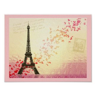 I love Paris in Springtime Posters