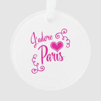 I Love Paris - J'adore Paris Vintage Style