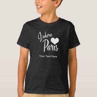 I Love Paris - J'adore Paris vintage style T-Shirt