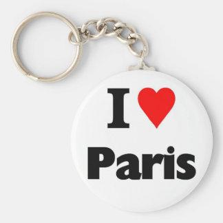 I love paris key chains