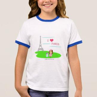 I love Paris Ringer T-Shirt