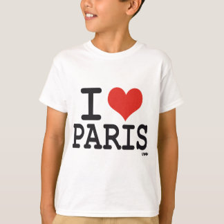 I love Paris T-shirts