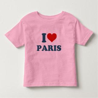 I Love Paris Toddler T-Shirt