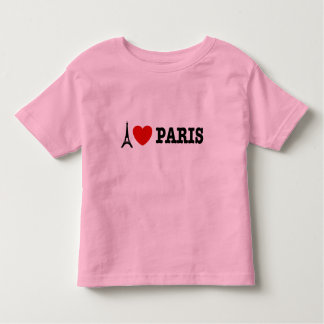 I Love Paris Tees