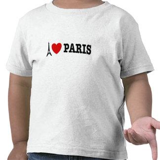 I Love Paris Tee Shirts