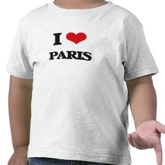 I Love Paris Tshirts