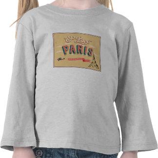 I Love Paris Shirts