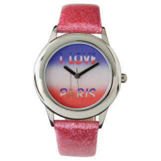 I LOVE PARIS watch for women