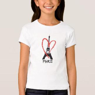 I love Paris with Eiffel tower Tee Shirt
