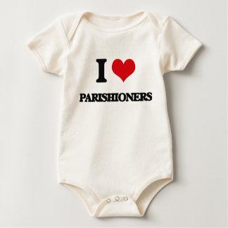 I Love Parishioners Baby Creeper
