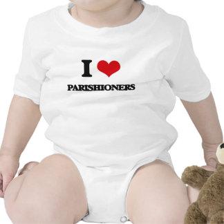 I Love Parishioners Bodysuit