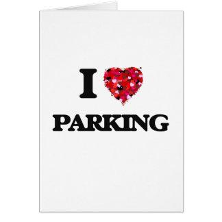 I Love Parking Card