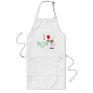 I Love Pasta Chef Long Apron