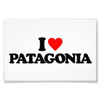 I LOVE PATAGONIA PHOTO ART