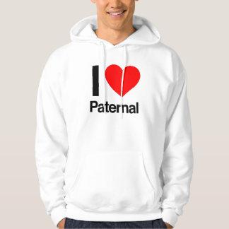 i love paternal hoodie