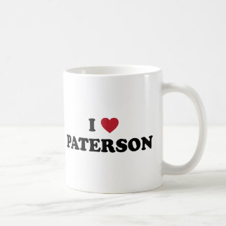 I Love Paterson New Jersey Coffee Mug