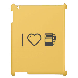 I Love Payphone Booths iPad Case