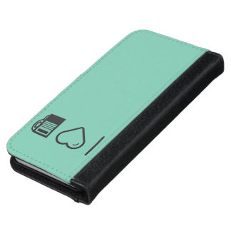 I Love Payphone Booths iPhone 6 Wallet Case