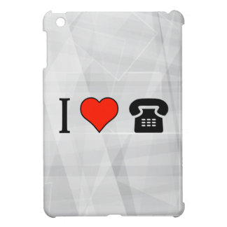 I Love Payphone Call Case For The iPad Mini