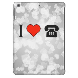 I Love Payphone Call iPad Air Cover