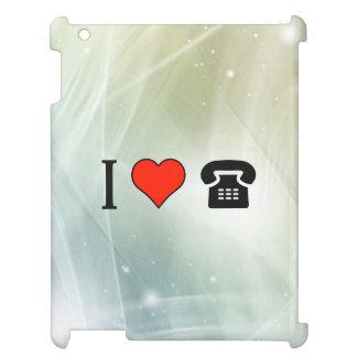 I Love Payphone Call iPad Cases