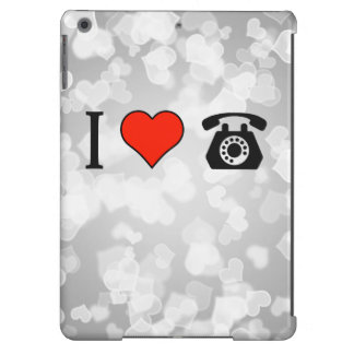 I Love Payphones Cover For iPad Air