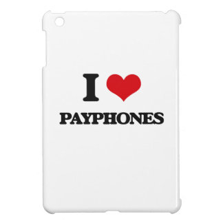 I love Payphones iPad Mini Cover